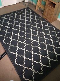 Ikea grey hovslund rug