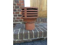 Chimney Cowl for CERTAIN Gas Fires/Redundant Chimneys, or nice Plant Pot