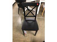 INGOLF Chair, brown-black, IKEA MILTON KEYNES #bargaincorner
