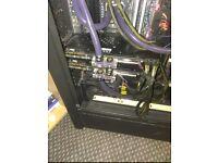 MSI GTX 1080 SEA HAWK EK X MSI NVIDIA GeForce 8 GB GDDR5X - USED