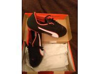 Football boots brand new. Puma size 9