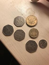 Range of Coins