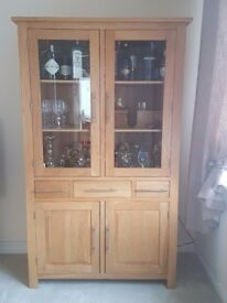 Solid Oak Display Oak