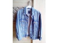 Women's Denim Jacket Small Size (EU:36, UK:8/10) Bershka
