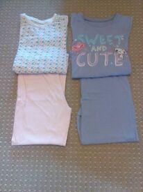 5-6 year old girl 3 set pyjama bundle. Can buy as bundle or separate