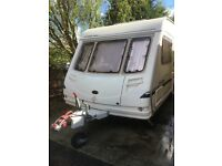 2003 Sterling Europa 510 5-berth caravan with awning and other accessories