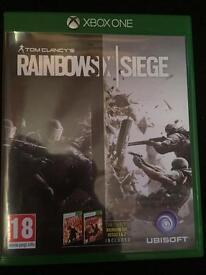 Rainbow six SIEGE Xbox one game