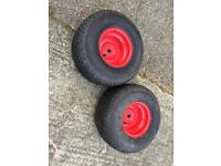 Countax Rear wheels and Tires