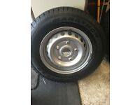 Brand new ford transit Custom wheels and tyres 215/65/15