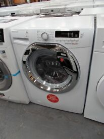 White Hoover Washing Machine…As new…catalogue returns…9kg…A+++…1400 spin…LW11
