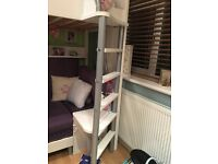 High rise single bed