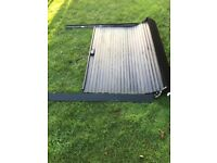Toyota Hilux mk7 double cab armadillo roll top shutter
