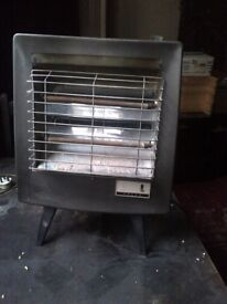 vintage Faulks electric fire or radiant heater in working order collectors item