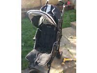 Maclaren pushchair- hardly used