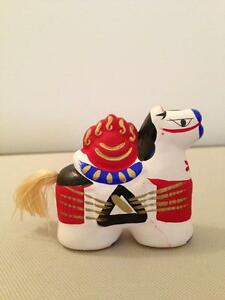 Horse Figurine From Japan - Handcrafted/Hand Painted