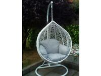 Swing Chair Egg Shape for Indoor or Outdoor BARGAIN