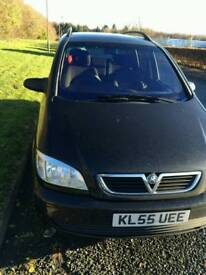 Vauxhall zafira for sale only 2 owners