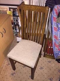 M and S dining chairs - 6 available