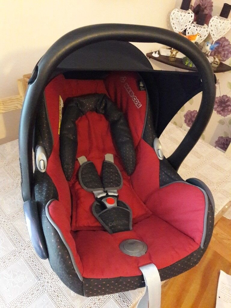 Maxi cosi baby car seat free to collect | in Frenchay, Bristol | Gumtree