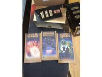 Star wars trilogy vhs tapes