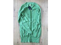 Size 8 Next green cardigan