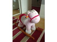 Mamas and papas rocking horse £15 RRP£65