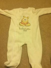 Baby girls baby grows/clothes up to 3 months/3-6 months