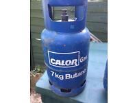 Calor gas bottle 7 kg empty