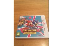 Mario and sonic London 2012 Olympic Games 3ds