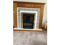 Fireplace electric fire