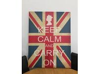 Keep Calm and Carry on Picture