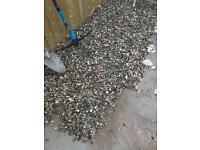 Garden Stones / Gravel - Arox 35 rubble bags (FREE)