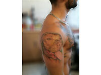 Tattoo artist 250£ session