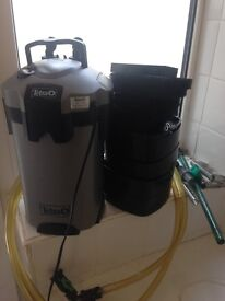 Tetra ex700 filter kit all working