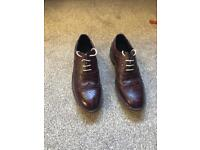 Mens brogue shoes size 10