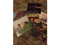 Iconic and original pink flloyd vinyls