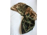 Army Mk6 Helmet covers - Assorted x5