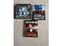 Doctor Who Puzzle, and 2 Doctor Who Annuals
