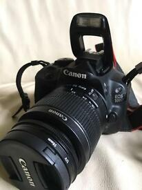 Canon EOS 100D Digital SLR Camera and Lenses