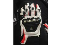 Dainese gloves size XL