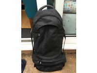 Perfect Condition MacPac 60l Aztec Gemini travel backpack