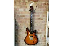 PRS SE Custom 24 Tobacco Burst with PRS gig bag