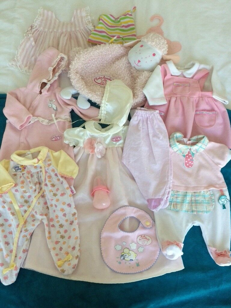 Baby Annabell Doll clothes Lot 3 | in Norwich, Norfolk ...