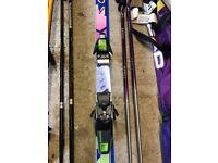 Fischer Ski's with poles & bag