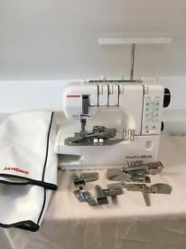 Janome coverstitch coverpro 1000cpx with accessories
