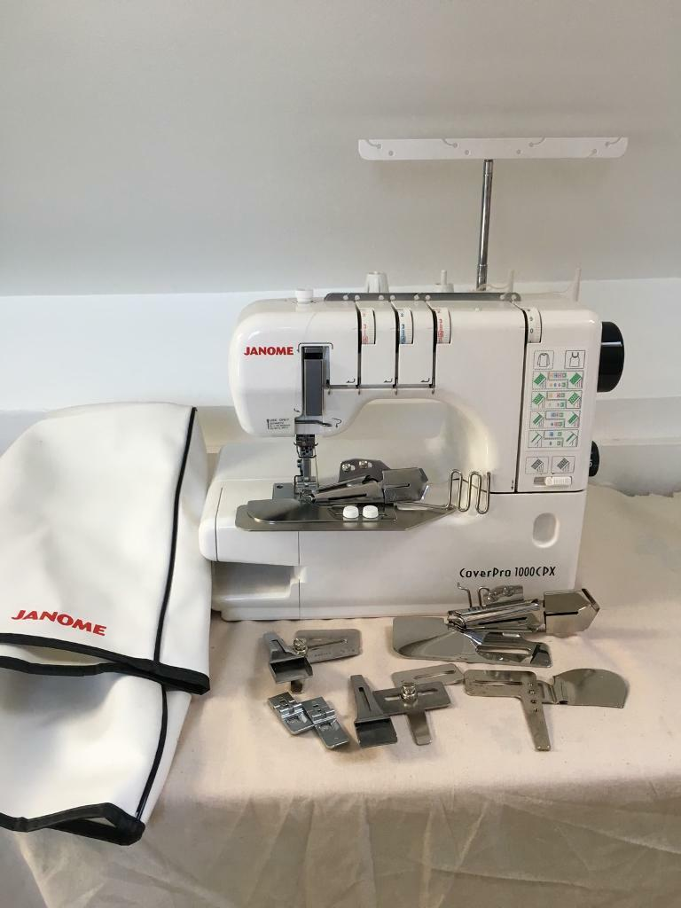Janome coverstitch coverpro 1000cpx with accessories | in Croydon ...