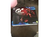 Playstation 4 500mb slim with Gran Turismo Sport