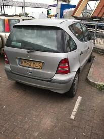 2002 Mercedes a140 automatic