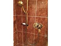 Thermostatic shower valve complete