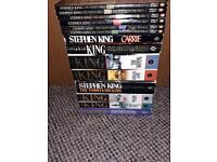 Job Lot of Stephen King books, all have been read and some are old but all in a good condition